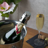 Stainless steel champagne stopper inflatable champagne bottle stopper sparkling wine stopper sealed champagne stopper