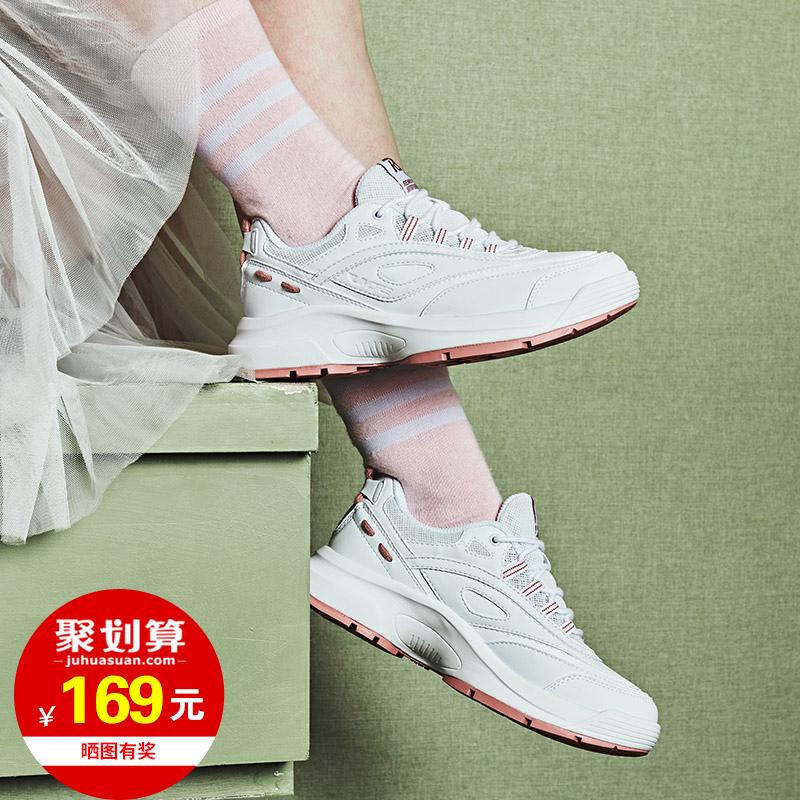 361女鞋 跑步鞋子春季2019新款男鞋老爹鞋女361度运动鞋女式跑鞋H