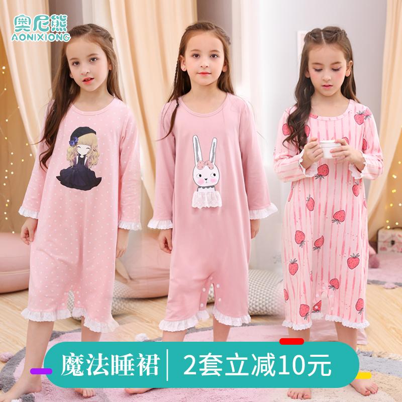 儿童睡裙纯棉