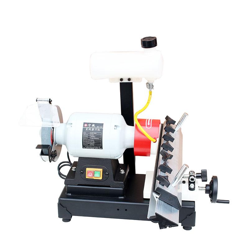 宁乾直线磨刀机家用加水无尘砂轮机多功能压刨平刨刀片专用打磨机