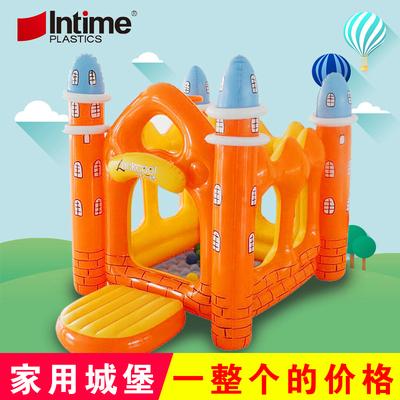 充气加厚室内家用蹦床小型婴儿童游乐园玩具屋设备城堡淘气堡帐篷品牌排行
