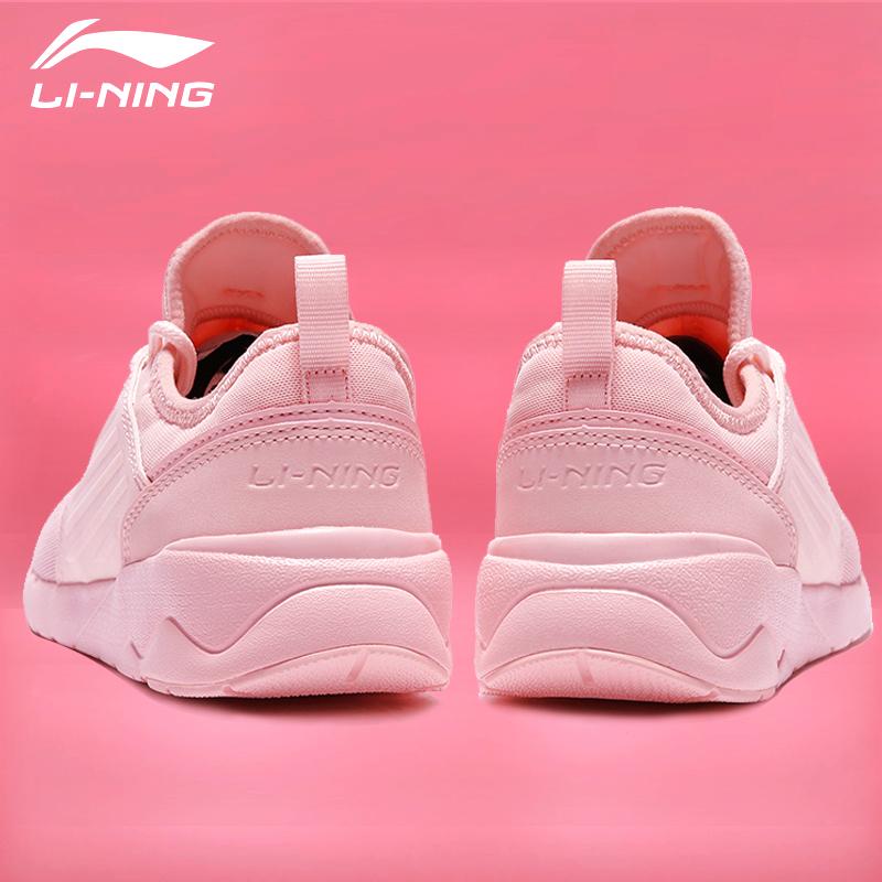 李宁女鞋板鞋休闲鞋学生韩版跑鞋松糕鞋小粉白鞋正品跑步鞋运动鞋