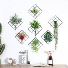 北欧风客厅墙上绿植壁挂创意家居卧室宿舍墙壁挂件房间墙面装饰品