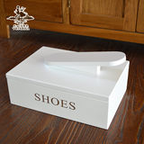 Tianyi Polka Shoe Shine Shoe Polishing Shoe Shine Shoe Tool Storage Box Shoe Box Shoe Shine Box