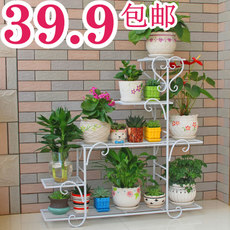 Flower shelf multi-storey indoor special home balcony fleshy wrought iron living room province space basin floor-standing green dew