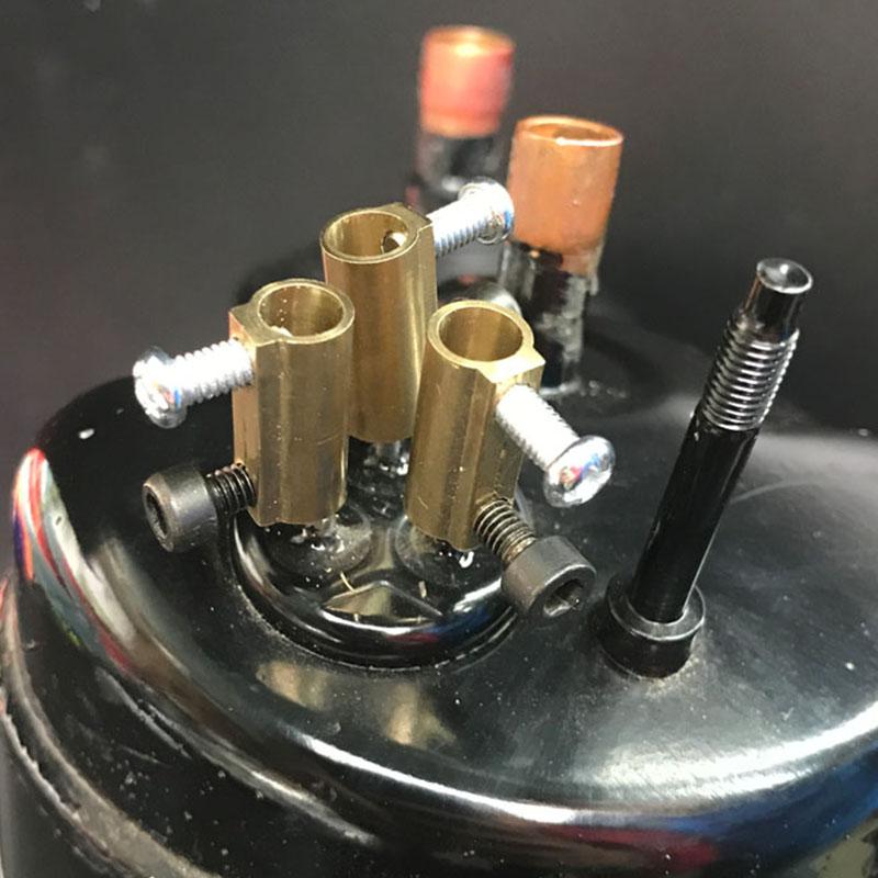 美的格力空调压缩机防过载接线柱黄铜接线端接线端子铜柱过载保护