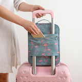 Travel standing shoes storage bag dust-proof shoes bag sports shoes bag moisture-proof can be set trolley case luggage box