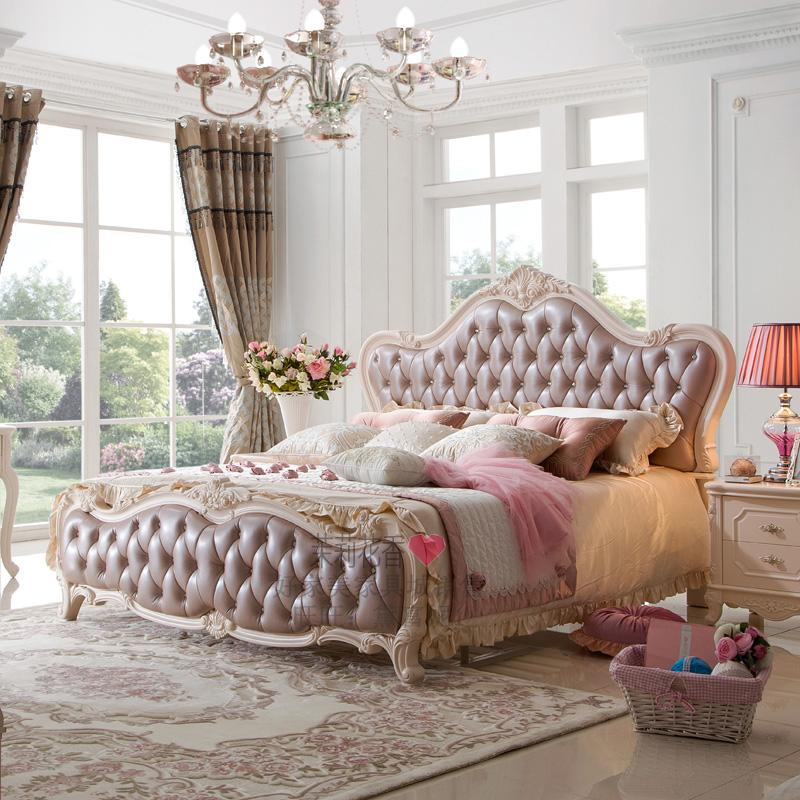 茉莉花香韩式家具 床
