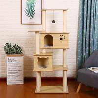 Environmentally-friendly luxury large cat climbing frame cat tree cat jumping table cat scratch board cat litter sisal cat scratching cat toy