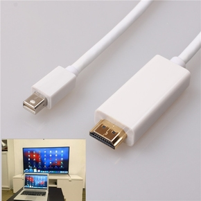 MacBook Air/Pro苹果笔记本电脑与连接电视投影仪HDMI高清转换线