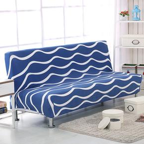 折叠沙发床专用沙发套万能弹力全包沙发罩双人三人沙发垫格子现代