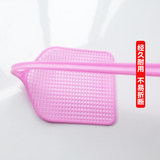 Fly swatter plastic thickened long handle mosquito killer summer net home fly swatter large long handle mosquito shoot