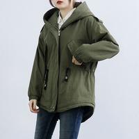 棉衣连帽工装加厚宽松棉衣外套