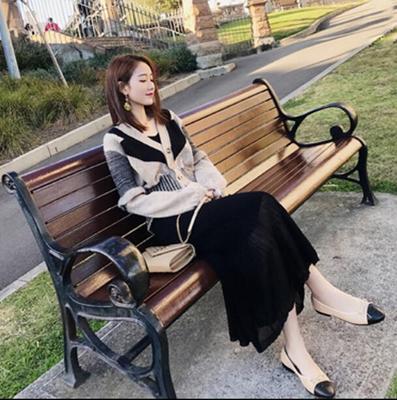 秋装2018新款女装小香风撞色针织开衫毛衣套装裙时尚两件套裙子女