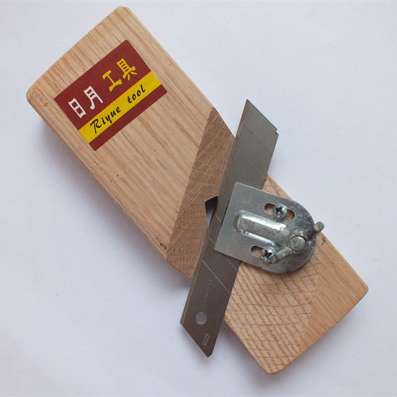 聚酯纤维吸音板嘉淀隔音板专用倒角工具45度斜角倒边器!