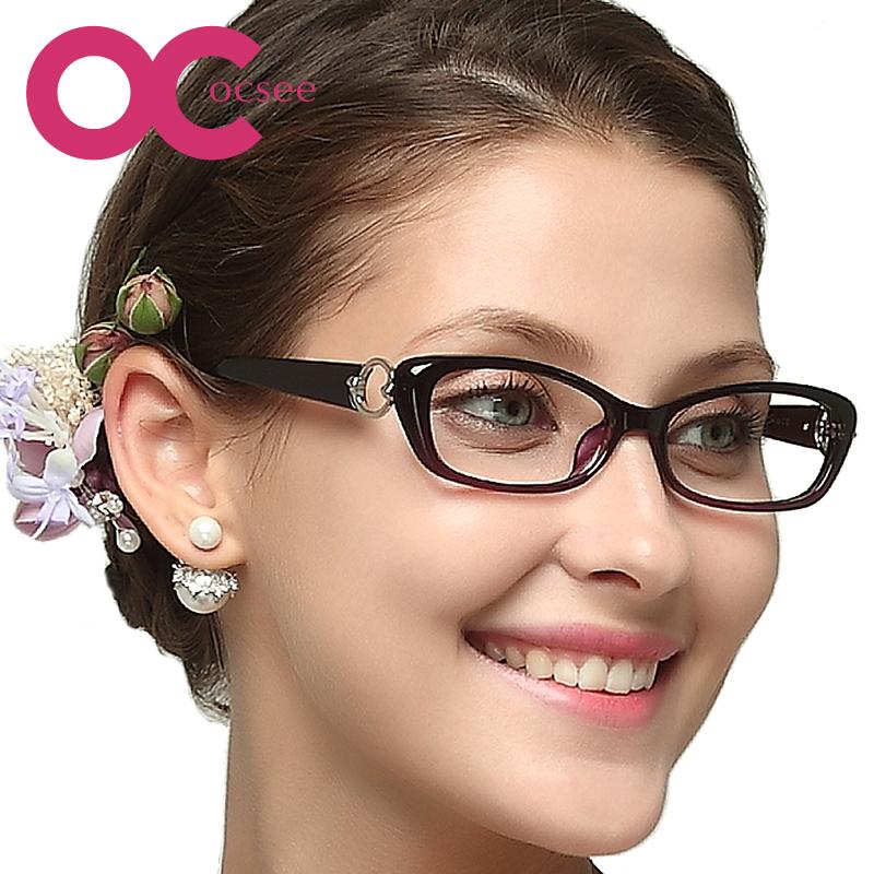 防蓝光老花镜女优雅时尚年轻超轻舒适简约便携超发水老光镜 OCSEE