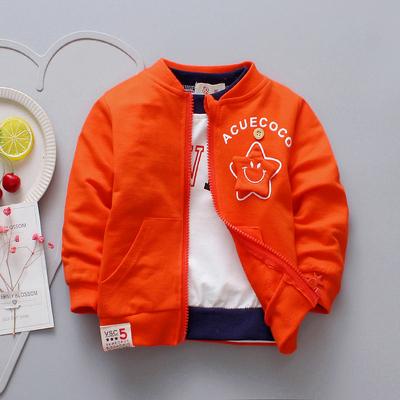 儿童春季外套2019新款男童女童纯棉薄开衫1-4岁宝宝春装婴儿上衣