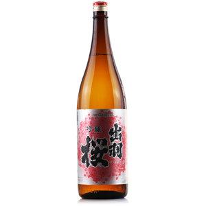 日本清酒出羽樱吟酿清酒1.8L原装进口发酵酒日本酒洋酒包邮