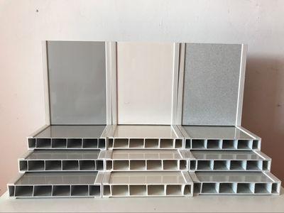 pvc塑钢空腔板卫生间隔断中空板材防潮防水板承接淋浴房隔断工程