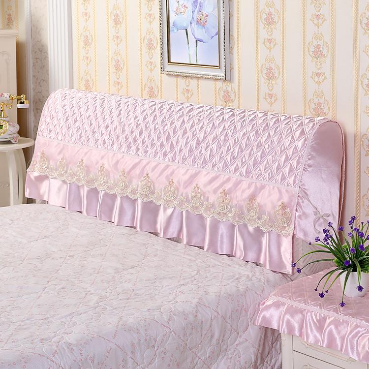 床头罩纯色欧式