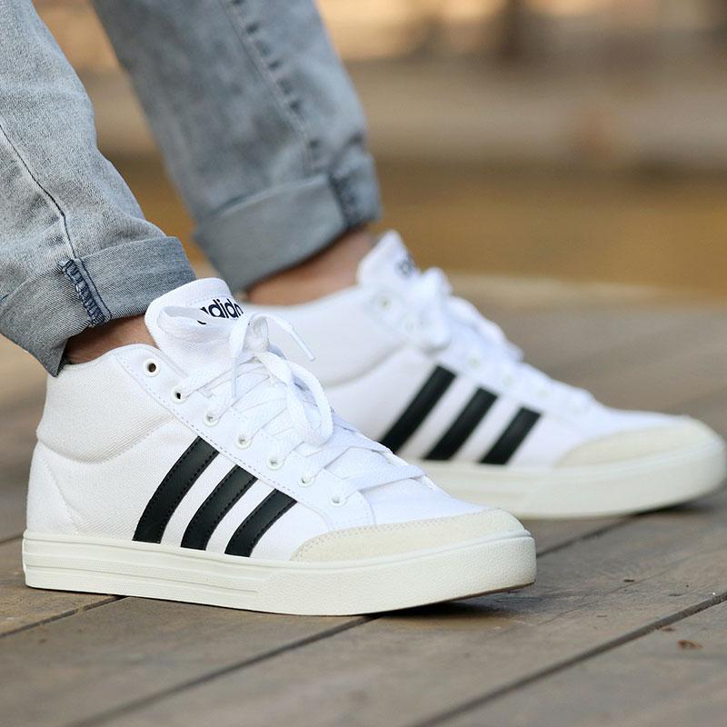 Adidas阿迪达斯男鞋2018秋季新款运动鞋轻便透气休闲鞋板鞋B44606