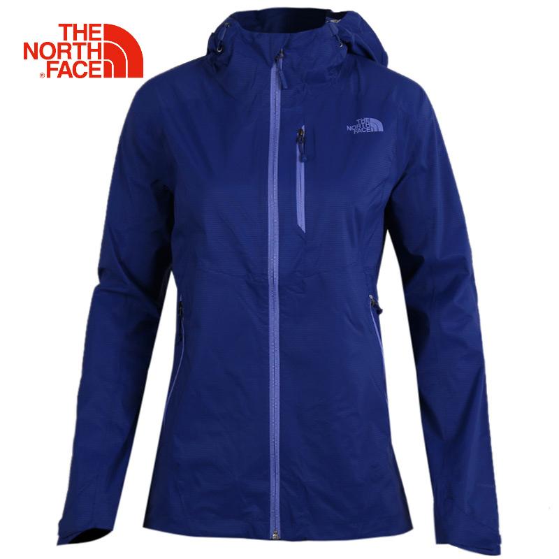 TheNorthFace北面女装秋冬季单层防水夹克户外加厚防风外套冲锋衣