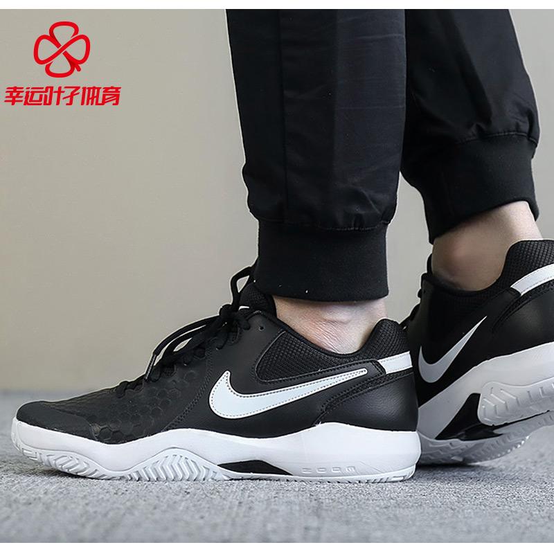 耐克男鞋2018秋季新款AIR ZOOM气垫透气运动休闲网球鞋918194-010