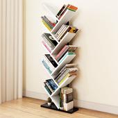 守炯蛞茁涞厥榧芏童小学生创意书柜置物架家用卧室床头树形书架