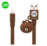Genuine line Brown Bear Apple data line iPhone XS Max 8P charging cable MFI certified fast-top iPad