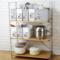 优思居橱柜收纳盒桌面塑料手提文件夹盒厨房锅具碗碟调味品收纳箱