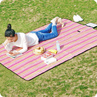 Outdoor portable picnic mat mats Foldable picnic cloth spring mats Oxford cloth waterproof picnic mats