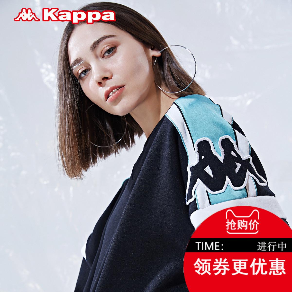 卡帕-BANDA联名款女卫衣运动衣 串标休闲上衣运动服K0822WT50