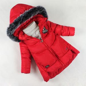 特价清仓女童棉衣新款童装女宝宝冬装棉袄中长款外套儿童棉服加厚