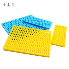 多孔塑料板拼装模型玩具孔板创客材料