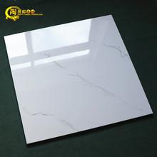 简约现代白色瓷砖800X800客厅全抛釉防滑地砖仿大理石耐磨地板砖