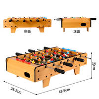6-post table football machine Home party indoor mini interactive ball game toy children's table football table