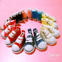 Spot doll shoes! exo doll clothes accessories 20cm doll clothes 15cm doll clothes canvas shoes