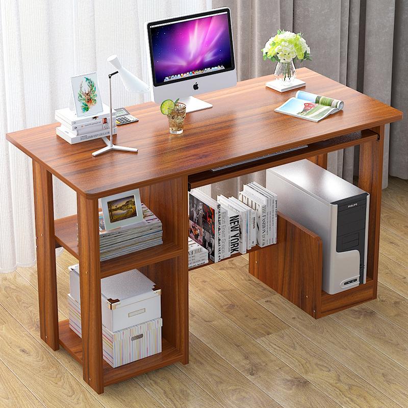 电脑桌书桌简约现代写字台卧室简易台式家用办公桌经济型写字桌子