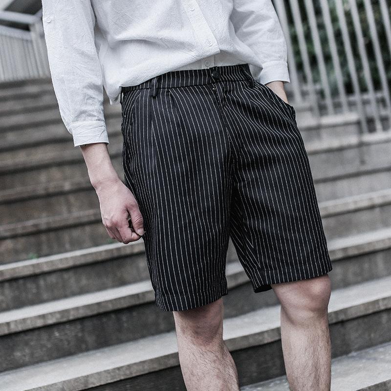 直脚日系男短裤