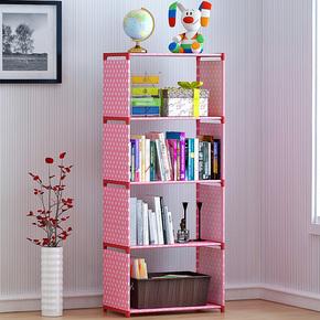 塑料卧室厨房客置物架宿舍多层杂物储物架收纳省空间架子简易书架