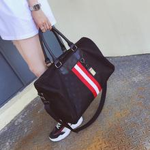 短途旅行包女韩版防水行李包袋大容量轻便运动健身包手提包男士潮
