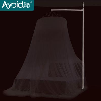 圓頂蚊帳支架吊頂蚊帳支撐架鐵藝掛架 免安裝不打孔不粘貼不爬梯