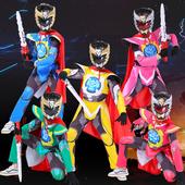 cosplay衣服神兽金刚玩具六合体cos男动漫演出服 六一儿童表演服装图片