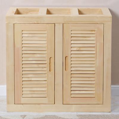 实木鱼缸底柜底架松木草缸架子鱼缸底座定制客厅鱼缸柜水族箱鞋柜