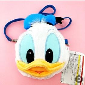 迪士尼人气周边包卡通包唐老鸭芭蕾兔斜挎包毛绒可爱单肩零钱卡包