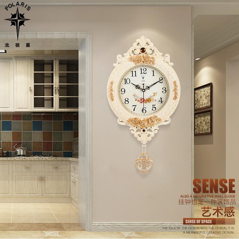 石英钟客厅挂钟创意欧式