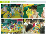 Corn kernels toy accidentally beans magic DIY corn kernels corn building blocks beans children's kindergarten manual 100 kernels 3.4