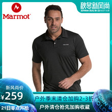 Marmot/Groundhog Outdoor Moisture Absorbing and Quick Drying Men's Short-sleeved T-shirt Polo Shirt in Summer 2019