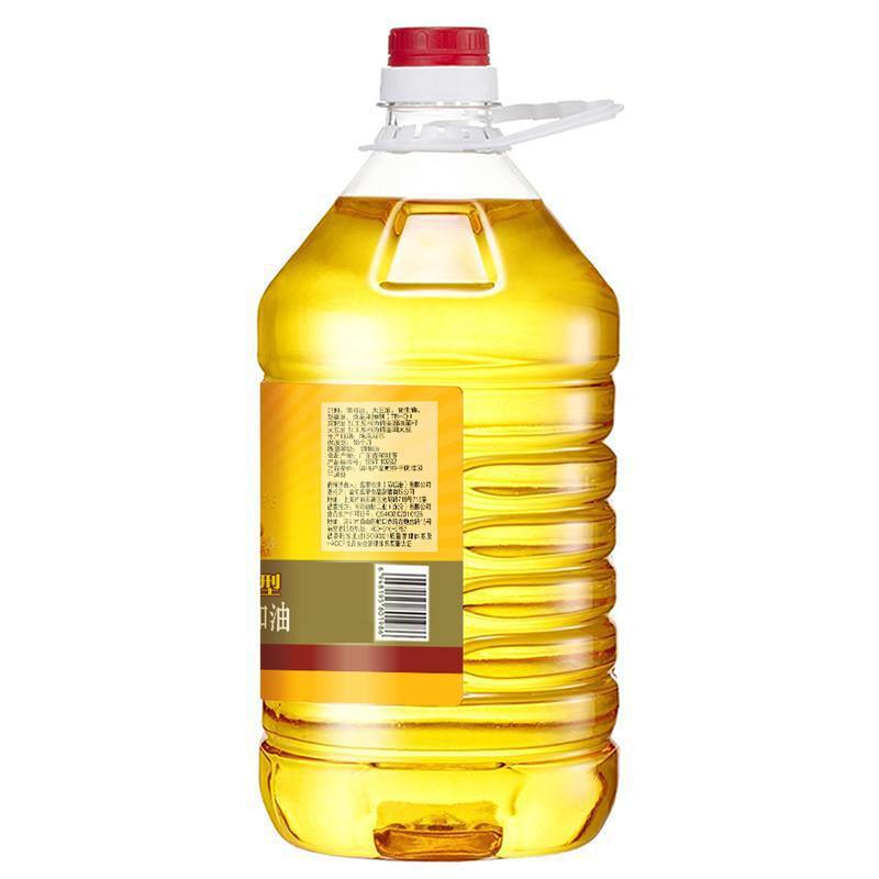 香满园花生香型食用调和油5L*4瓶  食用油 调和油