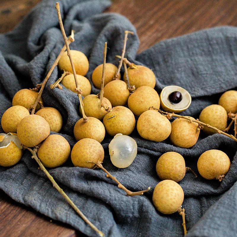 【买一送一】进口泰国龙眼新鲜桂圆应季现摘水果采摘共发4斤